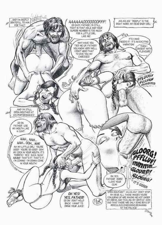 хильда порно комиксы