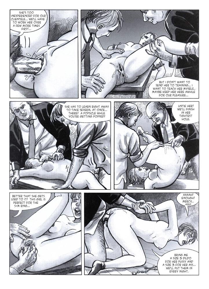 Порно комиксы порно мафия