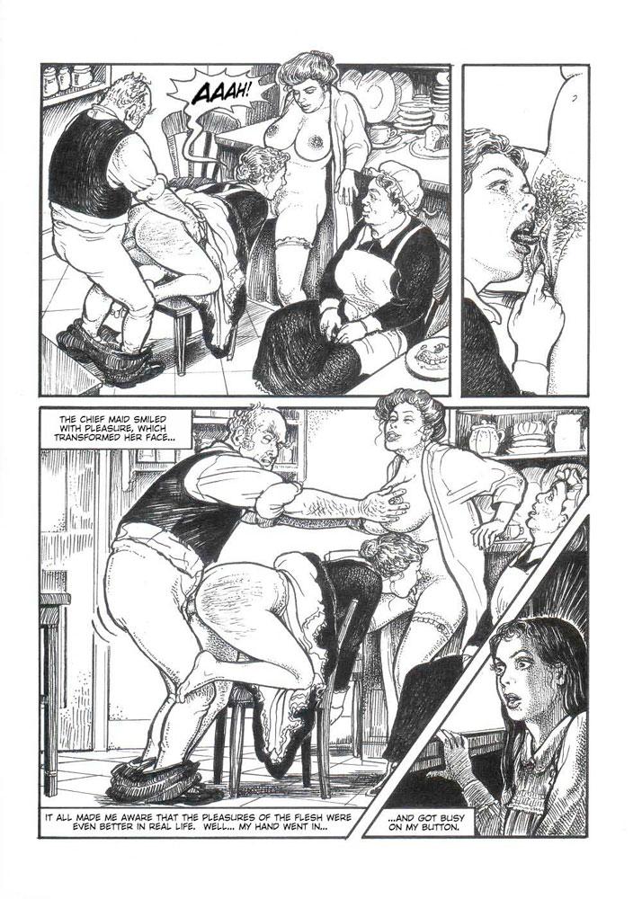 комиксы эротические ретро