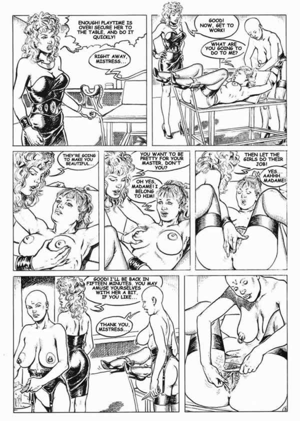 Черно белый комикс порно